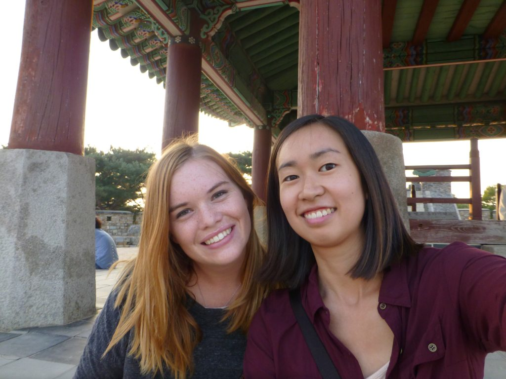 Young Adult Volunteers Emily Kent and Alyson Kung