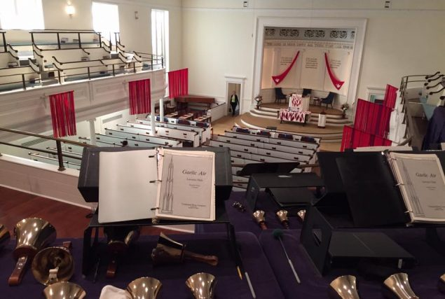 Bell choir's view