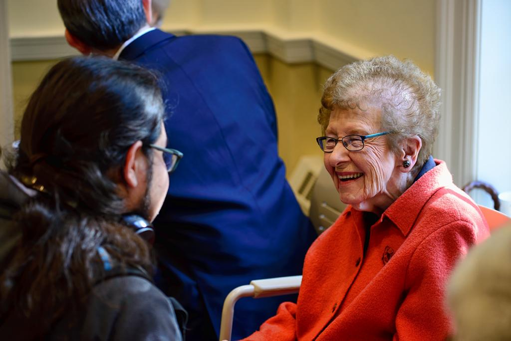 Senior adults enjoy Fellowship