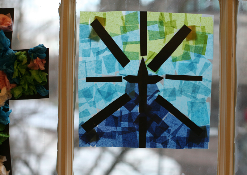 Artwork from the Lenten Craft Fair